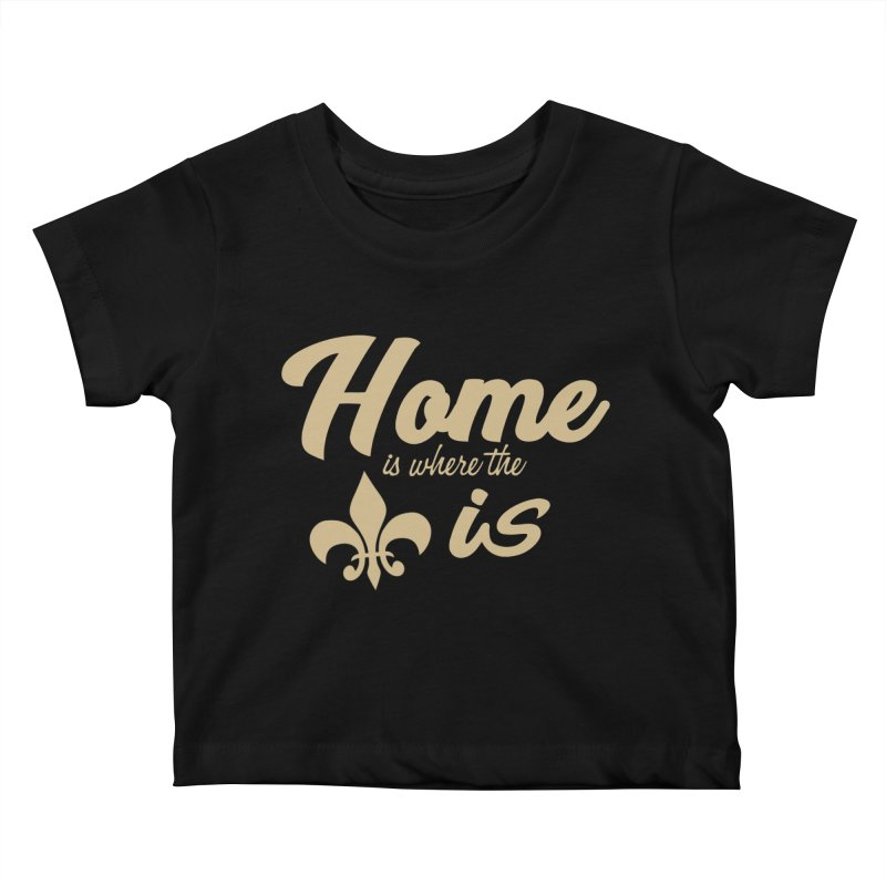 New Orleans Kids Baby T-Shirt by Mike Hampton's T-Shirt Shop