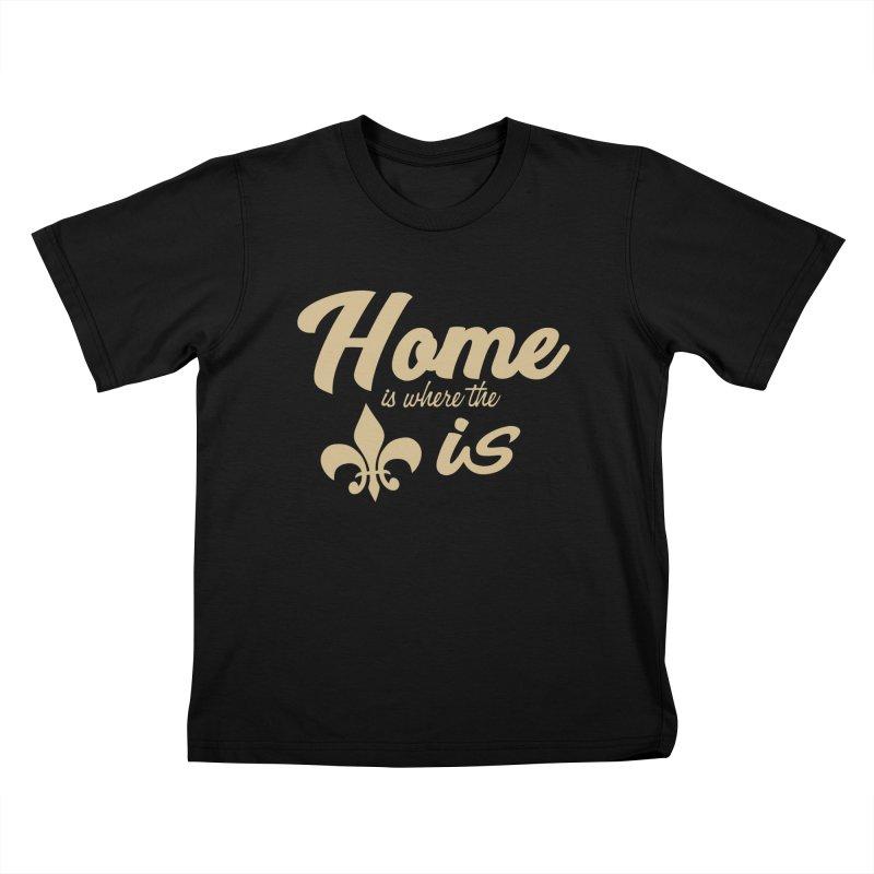 New Orleans Kids T-Shirt by Mike Hampton's T-Shirt Shop