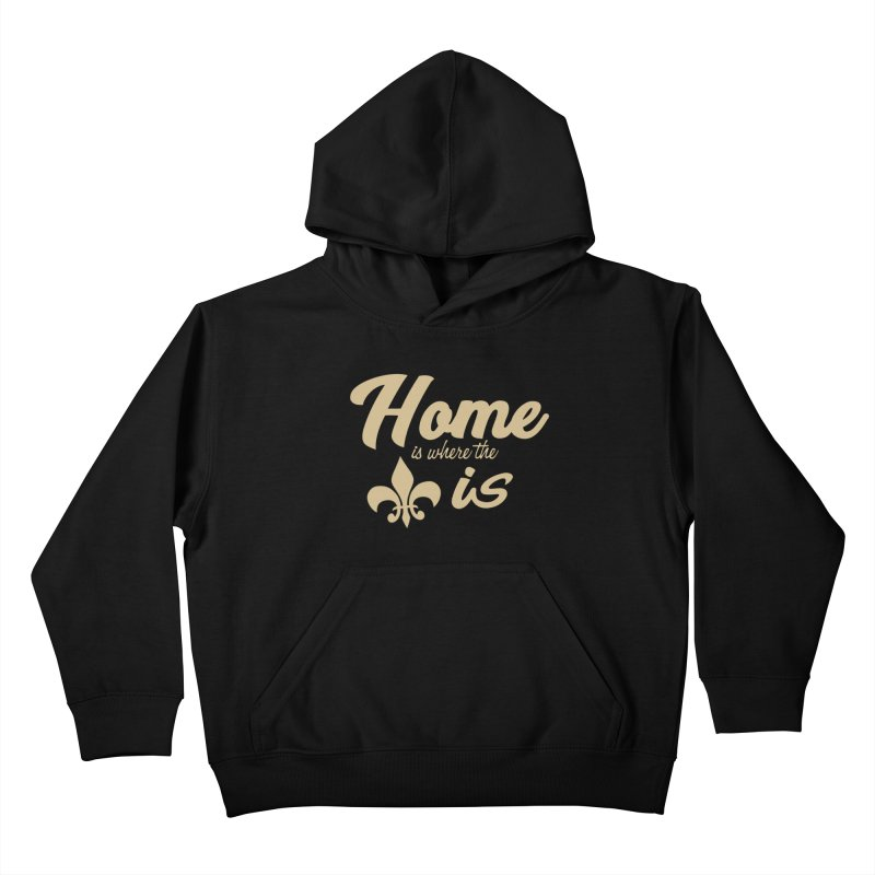 New Orleans Kids Pullover Hoody by Mike Hampton's T-Shirt Shop