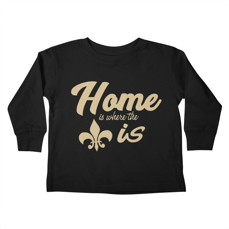 New Orleans Kids Toddler Longsleeve T-Shirt by Mike Hampton's T-Shirt Shop