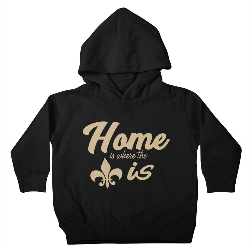 New Orleans Kids Toddler Pullover Hoody by Mike Hampton's T-Shirt Shop