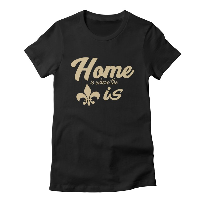 New Orleans Women's Fitted T-Shirt by Mike Hampton's T-Shirt Shop