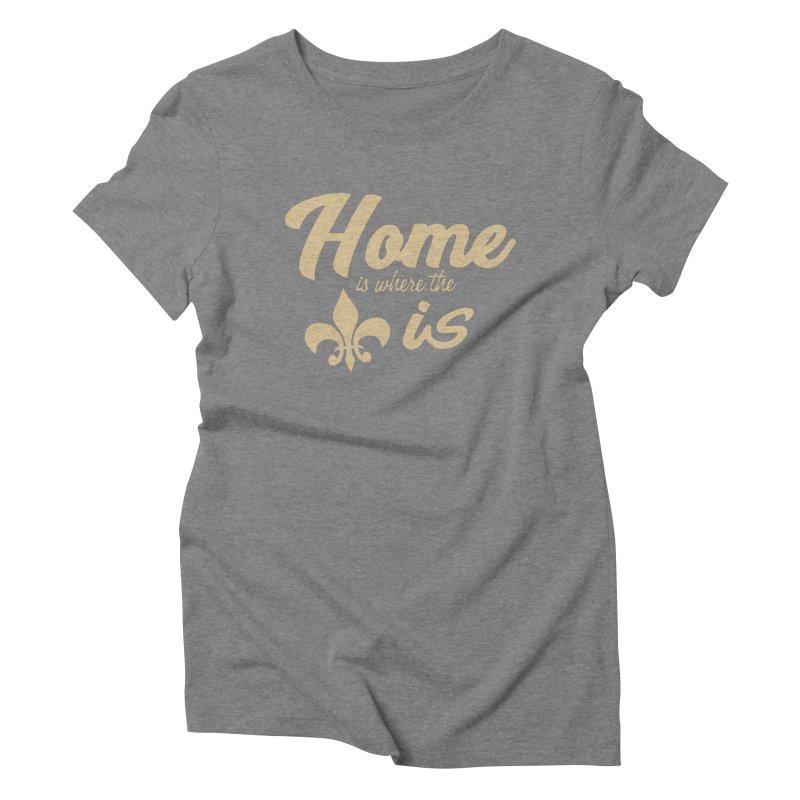 New Orleans Women's Triblend T-Shirt by Mike Hampton's T-Shirt Shop