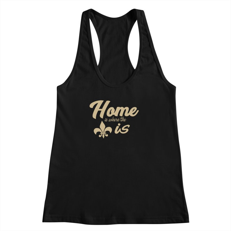 New Orleans Women's Racerback Tank by Mike Hampton's T-Shirt Shop