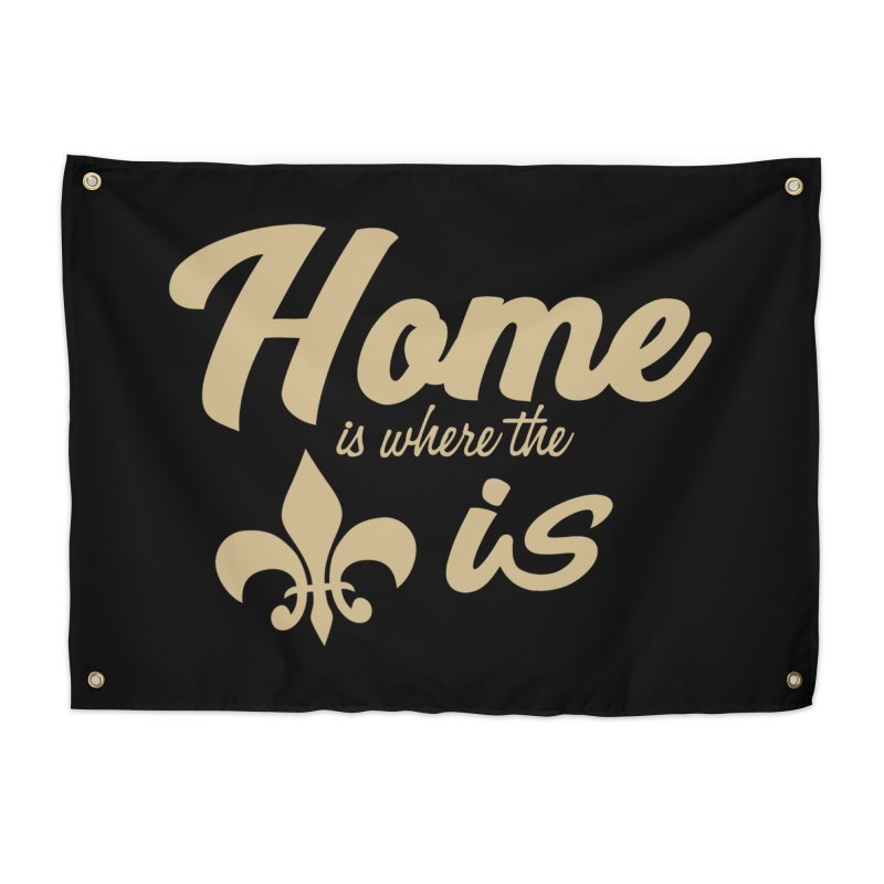 New Orleans Home Tapestry by Mike Hampton's T-Shirt Shop