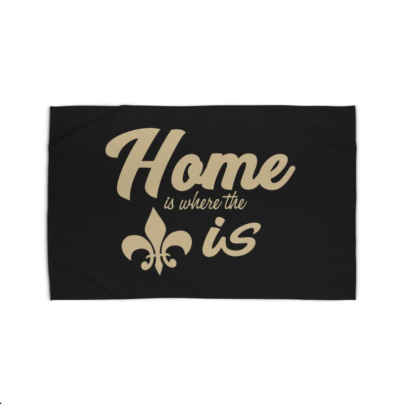 New Orleans Home Rug by Mike Hampton's T-Shirt Shop