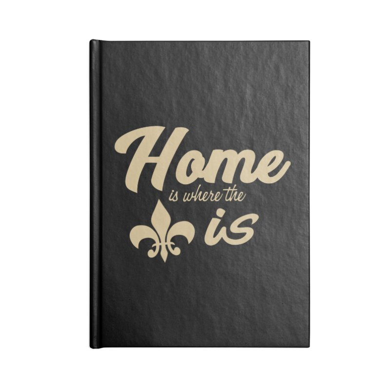 New Orleans Accessories Notebook by Mike Hampton's T-Shirt Shop