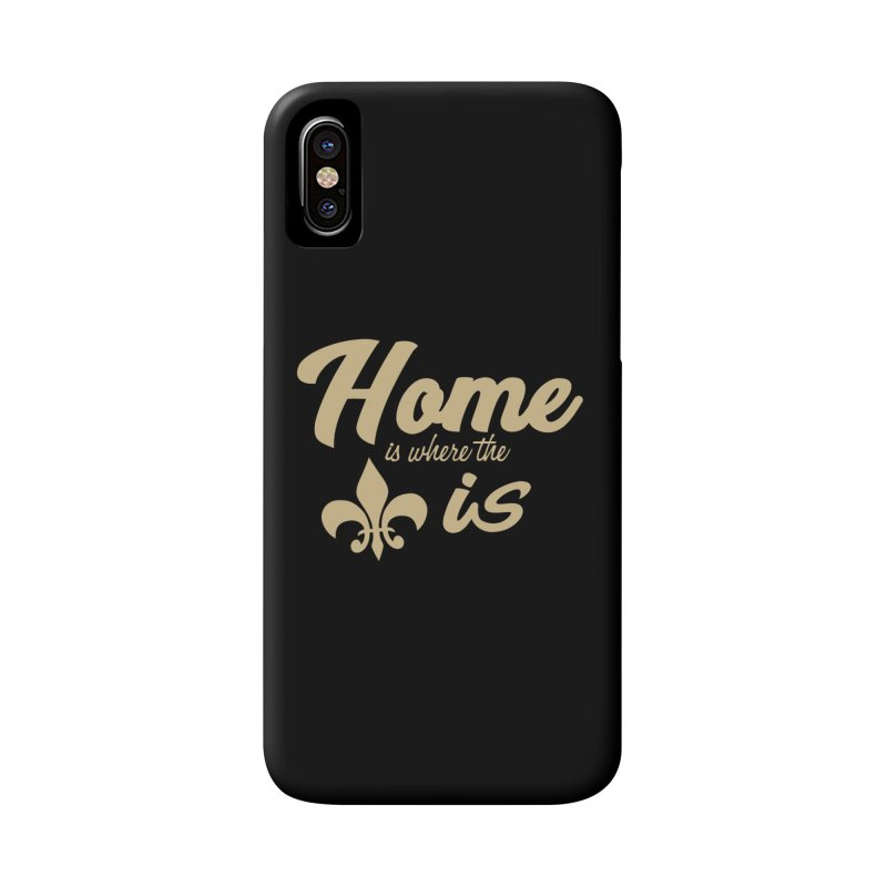 New Orleans Accessories Phone Case by Mike Hampton's T-Shirt Shop