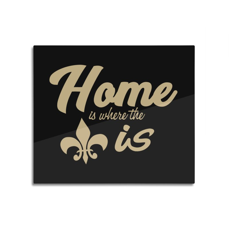 New Orleans Home Mounted Acrylic Print by Mike Hampton's T-Shirt Shop