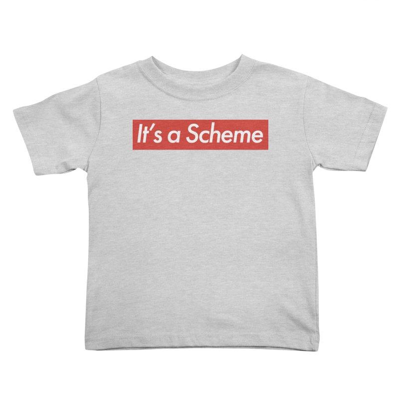 Supreme Scheme Kids Toddler T-Shirt by Mike Hampton's T-Shirt Shop
