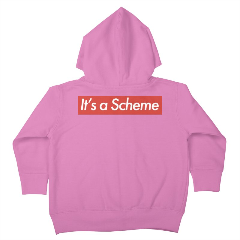 Supreme Scheme Kids Toddler Zip-Up Hoody by Mike Hampton's T-Shirt Shop