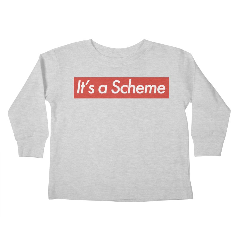 Supreme Scheme Kids Toddler Longsleeve T-Shirt by Mike Hampton's T-Shirt Shop