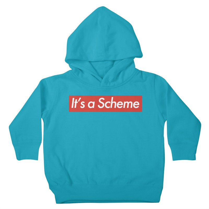 Supreme Scheme Kids Toddler Pullover Hoody by Mike Hampton's T-Shirt Shop