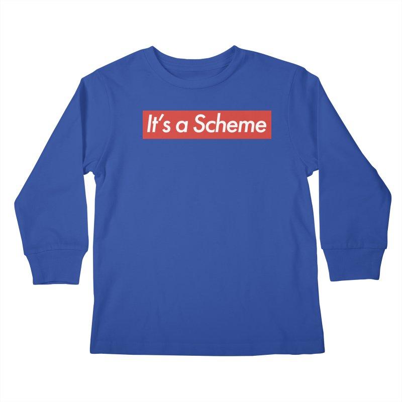 Supreme Scheme Kids Longsleeve T-Shirt by Mike Hampton's T-Shirt Shop