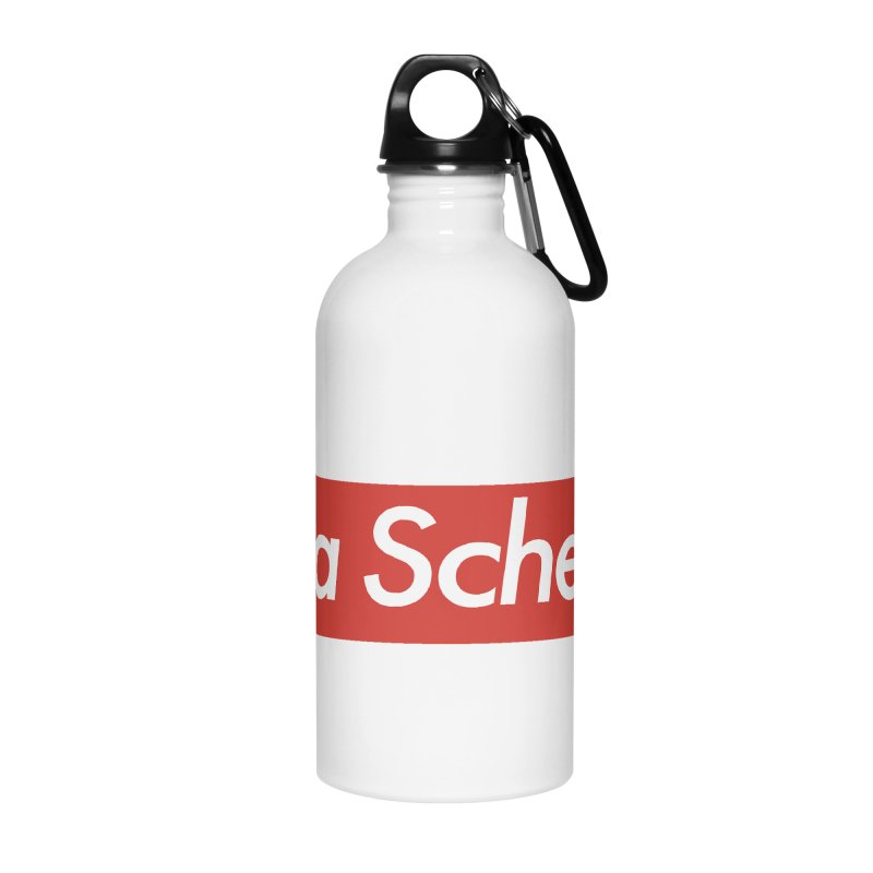 Supreme Scheme Accessories Water Bottle by Mike Hampton's T-Shirt Shop