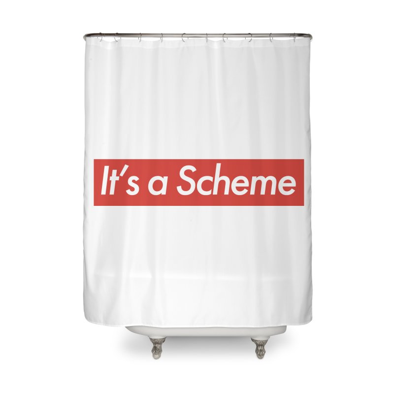 Supreme Scheme Home Shower Curtain by Mike Hampton's T-Shirt Shop