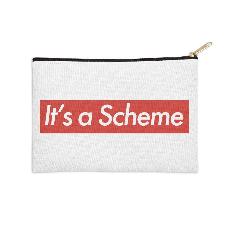 Supreme Scheme Accessories Zip Pouch by Mike Hampton's T-Shirt Shop