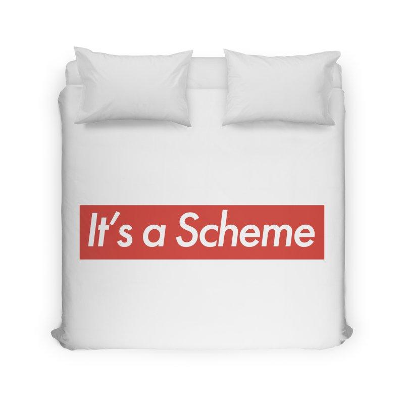 Supreme Scheme Home Duvet by Mike Hampton's T-Shirt Shop
