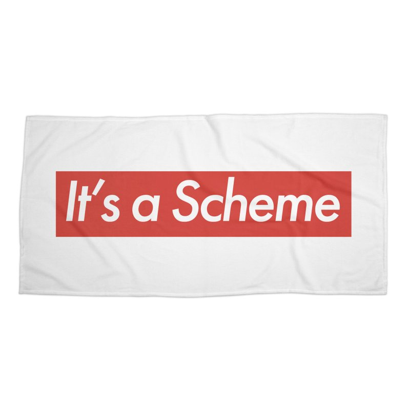 Supreme Scheme Accessories Beach Towel by Mike Hampton's T-Shirt Shop