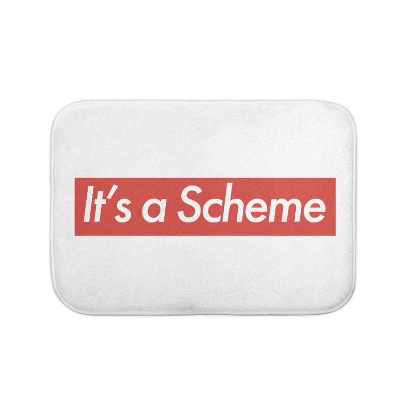 Supreme Scheme Home Bath Mat by Mike Hampton's T-Shirt Shop