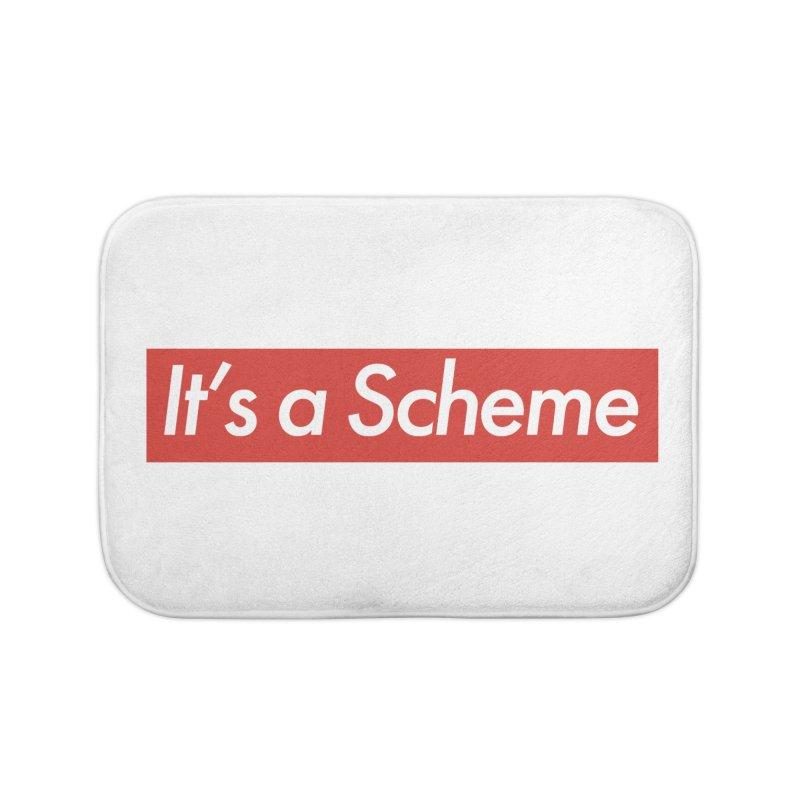 Supreme Scheme Home Bath Mat by Mike Hampton's T-Shirt Shop