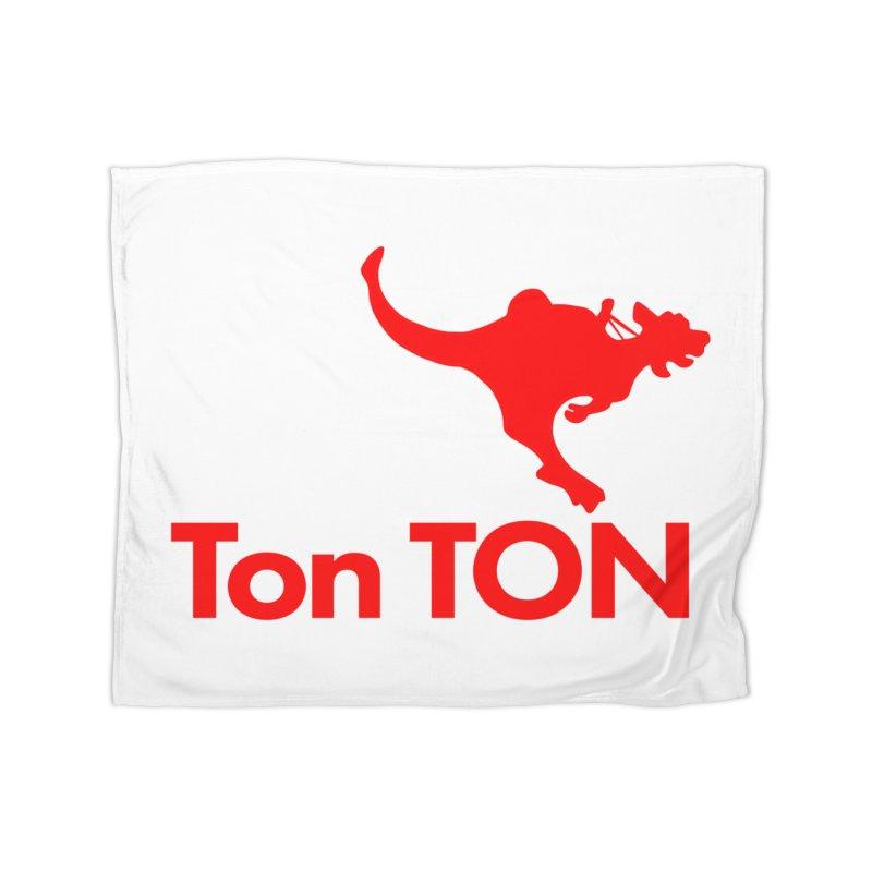 Ton-TON Home Blanket by Mike Hampton's T-Shirt Shop