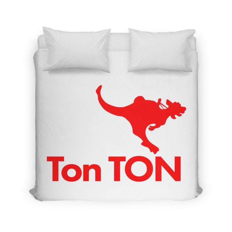 Ton-TON Home Duvet by Mike Hampton's T-Shirt Shop