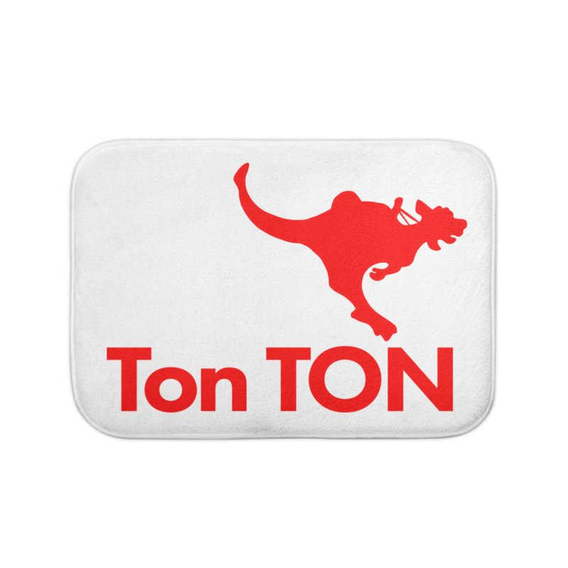 Ton-TON Home Bath Mat by Mike Hampton's T-Shirt Shop