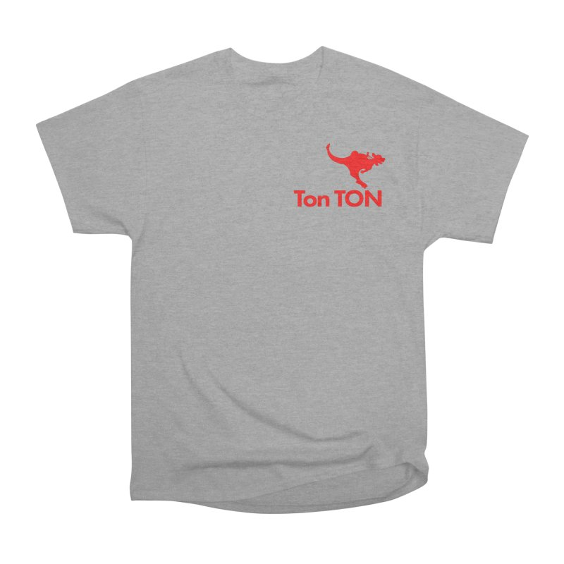 Ton-TON Men's Heavyweight T-Shirt by Mike Hampton's T-Shirt Shop