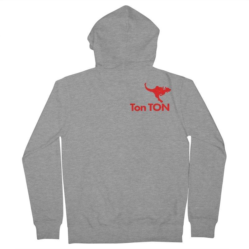 Ton-TON Women's French Terry Zip-Up Hoody by Mike Hampton's T-Shirt Shop