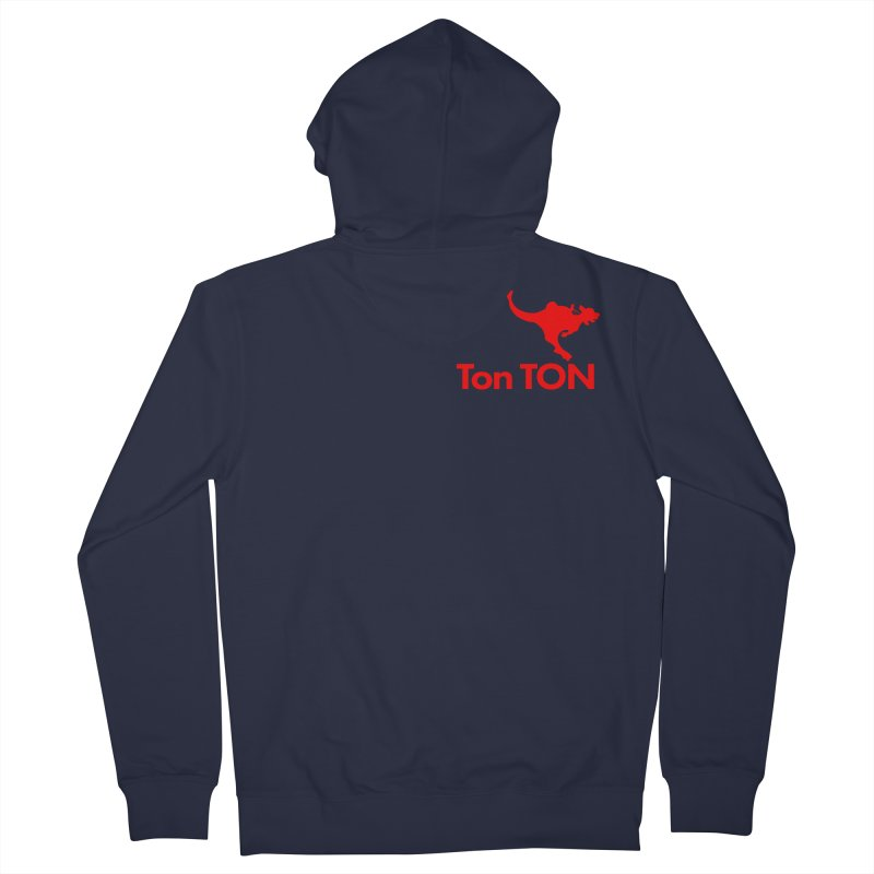 Ton-TON Women's Zip-Up Hoody by Mike Hampton's T-Shirt Shop