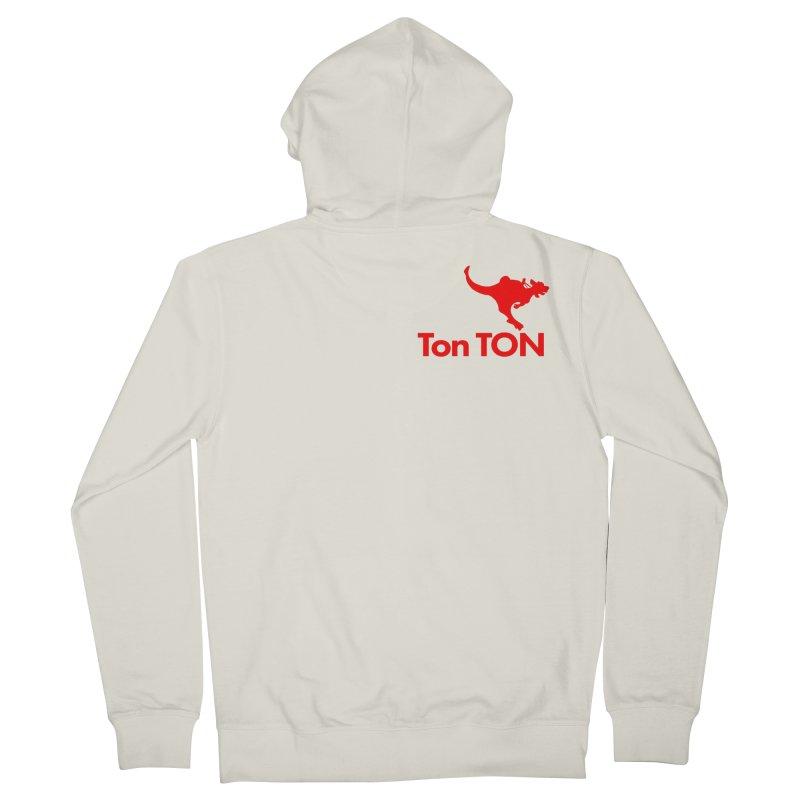 Ton-TON Men's French Terry Zip-Up Hoody by Mike Hampton's T-Shirt Shop