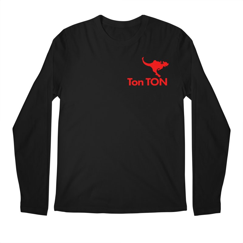 Ton-TON Men's Longsleeve T-Shirt by Mike Hampton's T-Shirt Shop
