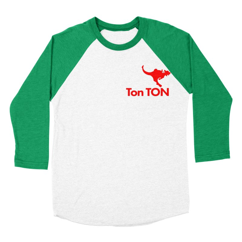 Ton-TON Women's Baseball Triblend T-Shirt by Mike Hampton's T-Shirt Shop