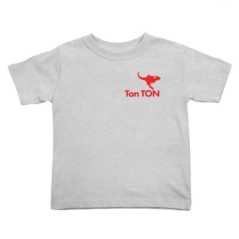 Ton-TON Kids Toddler T-Shirt by Mike Hampton's T-Shirt Shop