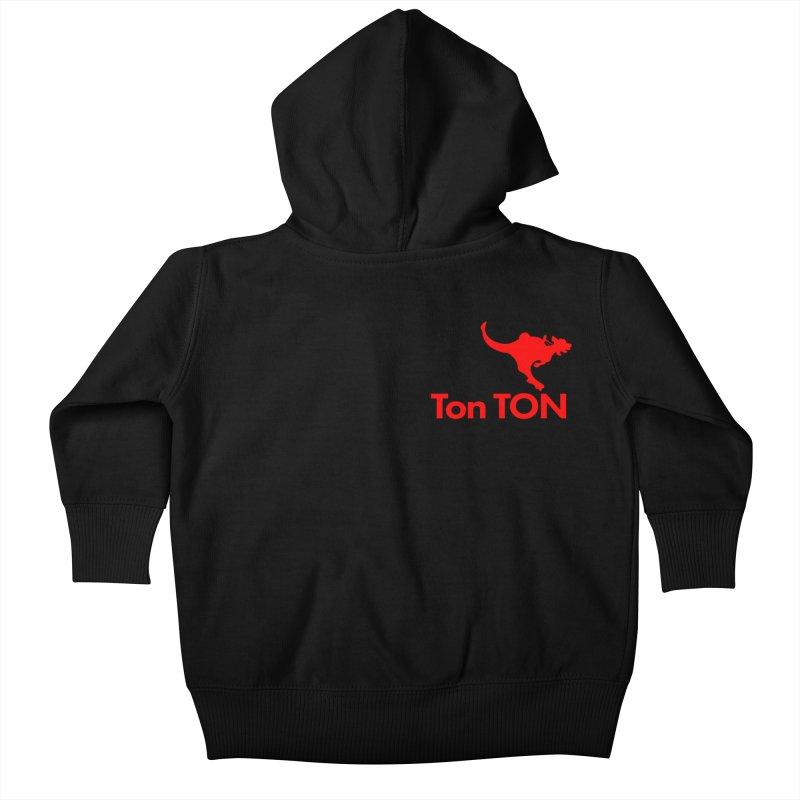 Ton-TON Kids Baby Zip-Up Hoody by Mike Hampton's T-Shirt Shop