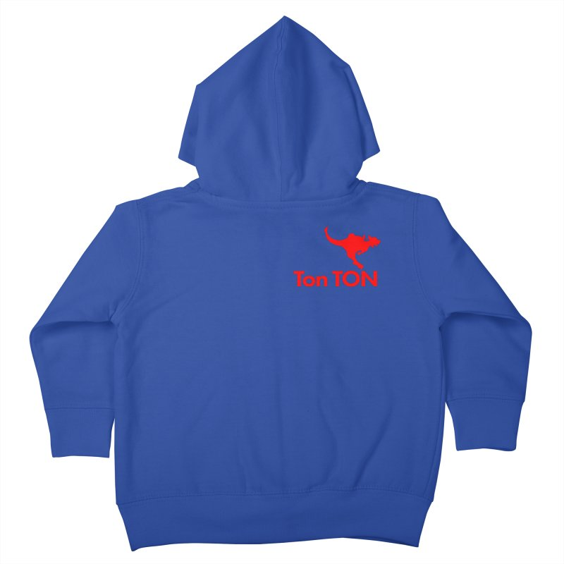 Ton-TON Kids Toddler Zip-Up Hoody by Mike Hampton's T-Shirt Shop