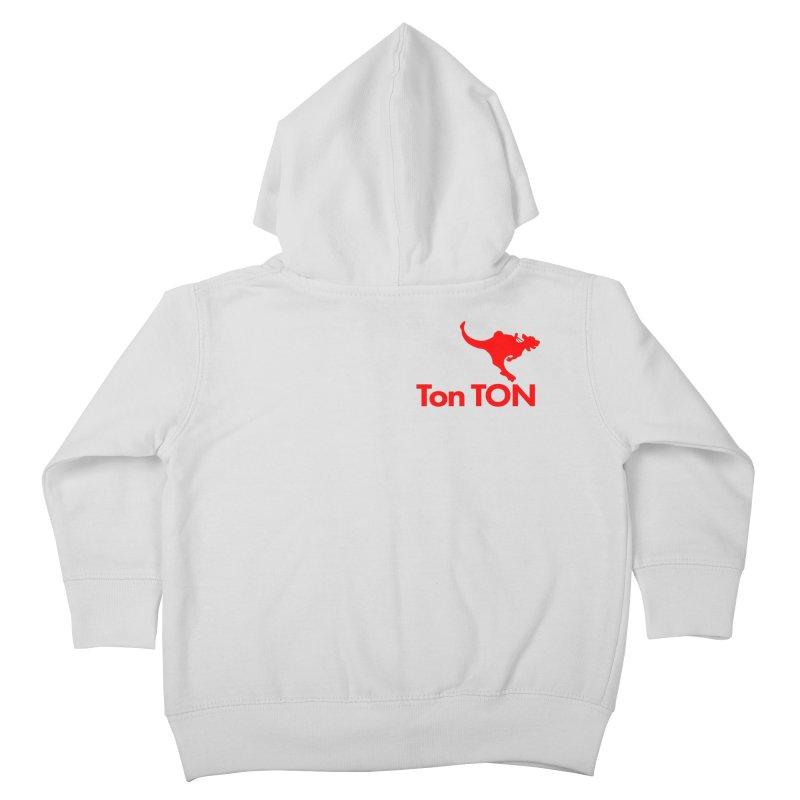 Ton-TON Kids Toddler Zip-Up Hoody by Mike Hampton's T-Shirt Shop