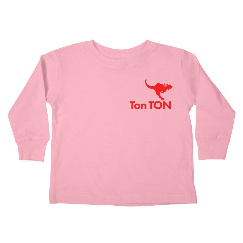 Ton-TON Kids Toddler Longsleeve T-Shirt by Mike Hampton's T-Shirt Shop