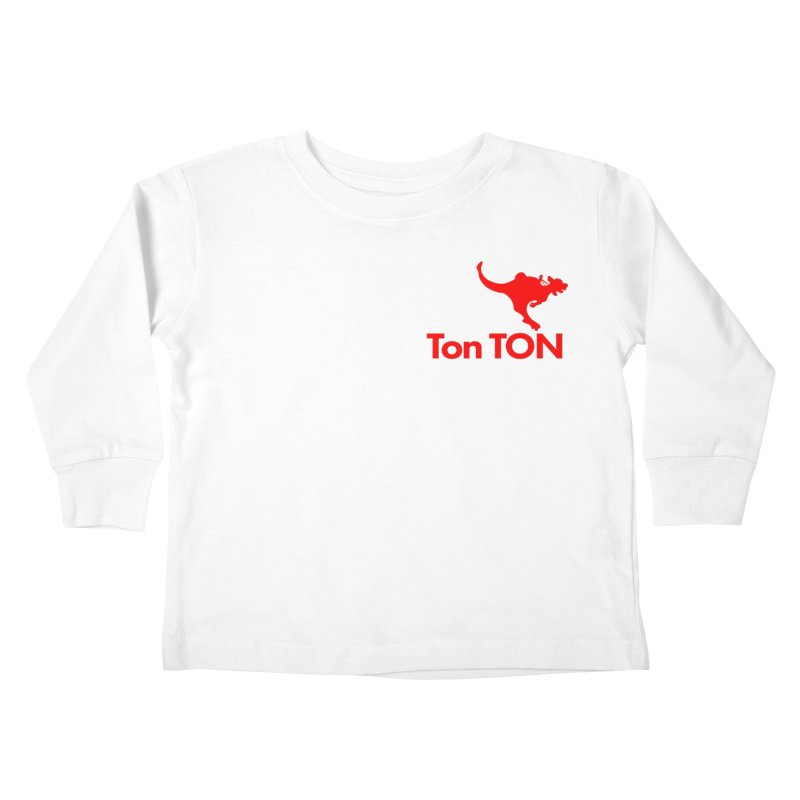 Ton-TON Kids Toddler Longsleeve T-Shirt by Mike Hampton's T-Shirt Shop