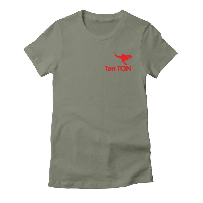 Ton-TON Women's Fitted T-Shirt by Mike Hampton's T-Shirt Shop