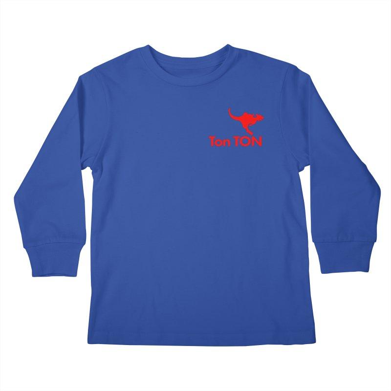 Ton-TON Kids Longsleeve T-Shirt by Mike Hampton's T-Shirt Shop