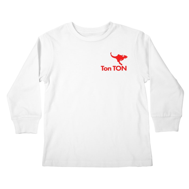 Ton-TON Kids Longsleeve T-Shirt by Mike Hampton's T-Shirt Shop