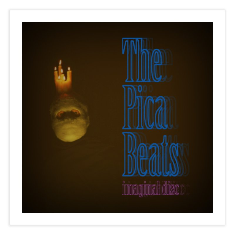 Imaginal Disc album art print Home Fine Art Print by The Pica Beats