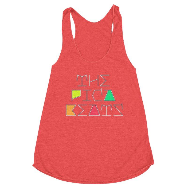 Futuristic Summer Logo Women's Tank by The Pica Beats