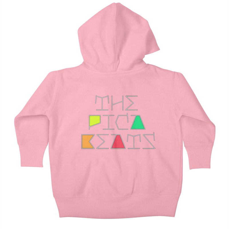 Futuristic Summer Logo Kids Baby Zip-Up Hoody by The Pica Beats