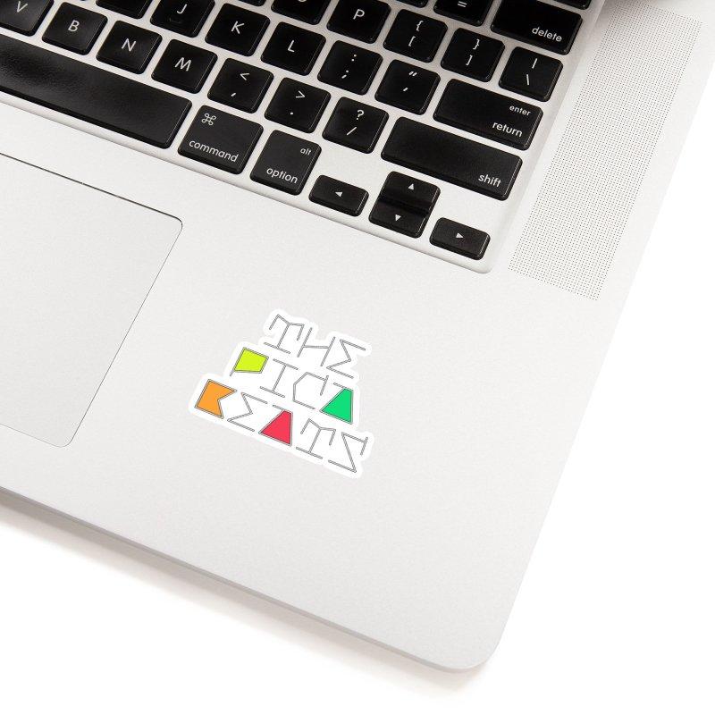 Futuristic Summer Logo Accessories Sticker by The Pica Beats