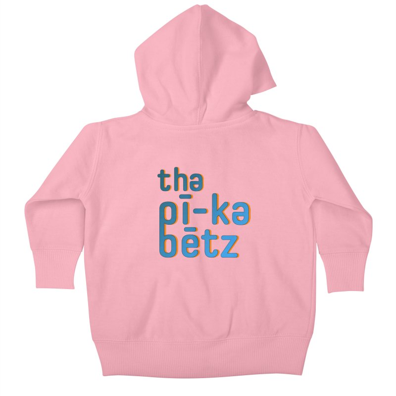 Pica Pronounced Kids Baby Zip-Up Hoody by The Pica Beats