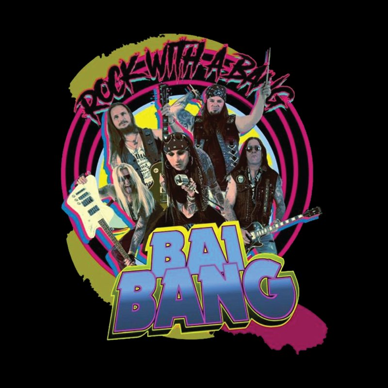 """BAI BANG """"Rock With A Bang"""" - Psychedelic Men's T-Shirt by The RFL Records Shop"""