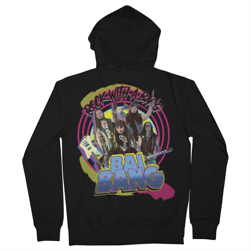 """BAI BANG """"Rock With A Bang"""" - Psychedelic Men's Zip-Up Hoody by The RFL Records Shop"""